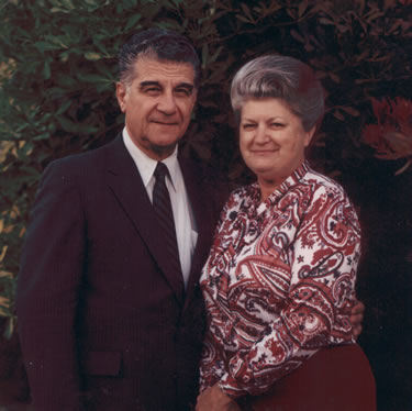 The late Bro. David and his surviving widow, Sis. Pollie Mamalis