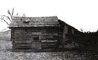 The log cabin where William Branham was born April 6, 1909
